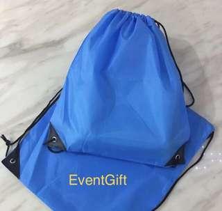 Sky blue swimming drawstring bag for kids goodies bag, goody bag gift