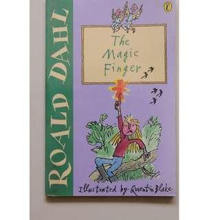 Children's Book :  The Magic Finger   ( Author : Roald Dahl )