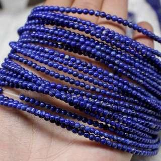 3mm Lapis Lazuli Beads