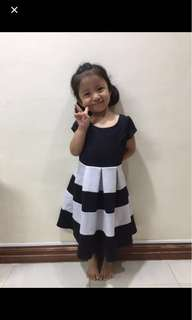 Neoprene dress for girl