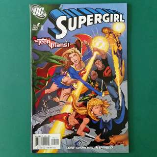 Supergirl No.2 comic