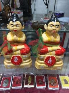 """Thai Amulet 3"""" Kuman Bucha make by Luang phor Sekdi"""
