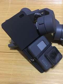 GoPro plate adaptor