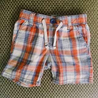 Baby Gap Checkered shorts
