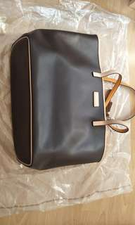 Coach tote bag, brown color, like new