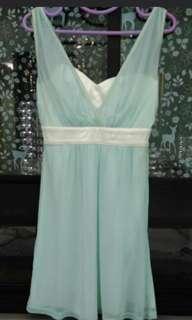[Free size] Apple Green Bridesmaid Dress