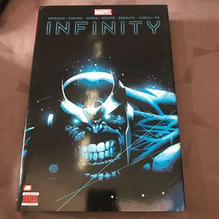 Marvel Comics Infinity Hardcover HC Like New
