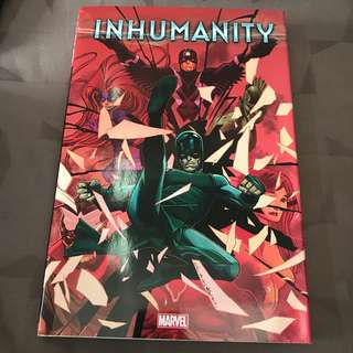 Marvel Comics Inhumanity HC Like New