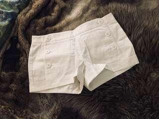 Bnwot aritzia white shorts