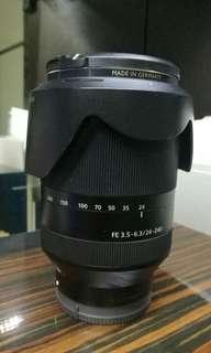 Preowned Sony FE 24-240mm 3.5-6.3 OSS