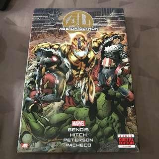 Marvel Comics Age of Ultron Omnibus HC Like New
