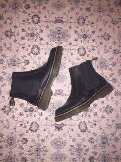 Dr.Martens leather slip on boots size 7