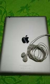 Apple iPad w/ headset