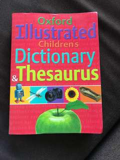 Oxford Illustrated Children's Dictionary & Thesaurus