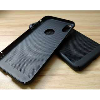 Hard Breathable Phone Case (iPhone X)