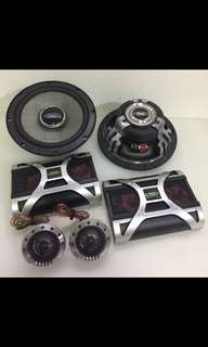 "RōDEK RS-1652D. 6.5"" Components Speaker. Car Radio And Audio System"