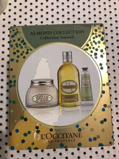 (包順丰站)Locittane Almond Collection 禮盒