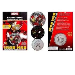 Marvel 2017 Iron Man Light-Ups™ Coin