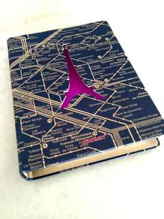 Abstract Printed Notebook
