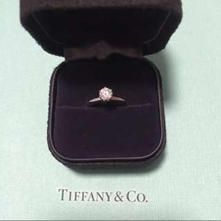 Tiffany & Co Solitaire Ring