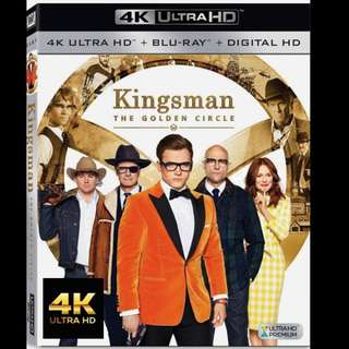 [Rent-A-4K-Movie] KINGSMAN THE GOLDEN CIRCLE (2017)