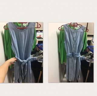 GAP denim dress size XS