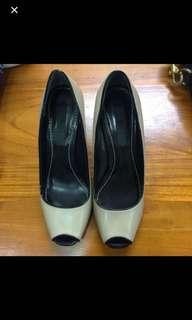 🚚 ICB皮裸色船型魚口鞋-35
