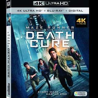 [Rent-A-4K-Movie] MAZE RUNNER THE DEATH CURE (2018)