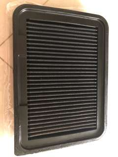 Used K&N Replacement Air Filter for Toyota Vios (part no. 33-2360s)