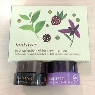 INNISFREE Best Collection (Clay Mask + Orchid Cream)