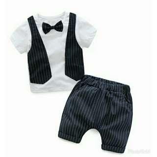 Children Clothing Sets Kids Clothes Suits Boys Gentleman Fashion Wedding Formal Clothes Sets Vest Shirt Pant