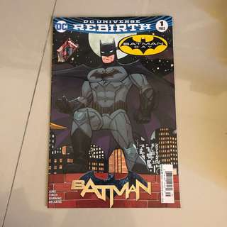 BATMAN REBIRTH 1 (edisi spesial batman day)