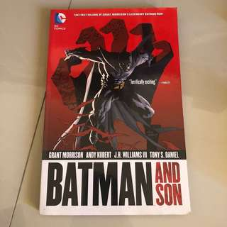 Batman and Son (DC Comics)