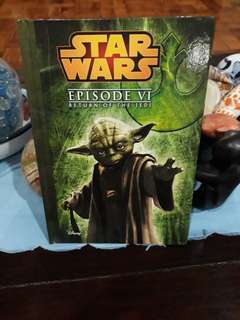Star Wars Episode VI Storybook