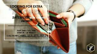 Do u need an EXTRA  MONEY?? Kindly, Drop your number for open interview.tq