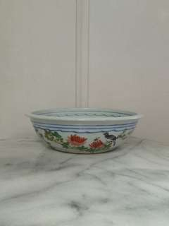 Old Porcelain Pot Height 8.5cm Perfect Condition