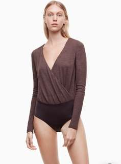 Black Wilfred Mackinley Bodysuit BNWT