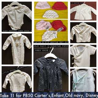 Take all for 850 Carter's bonnet, Old Navy dress, Enfant, Little Rocha, Koala baby, Little wishes