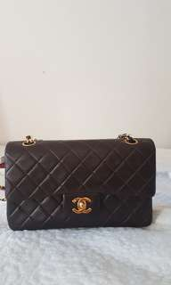 Chanel small brown vintage