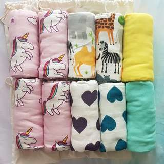 Brand New Tula Blankets