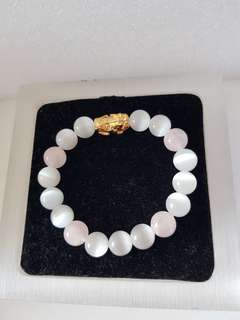 Pixiu cat eye stone Bracelet
