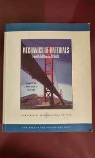 Mechanics of Materials by Beer, Johnston, DeWolf