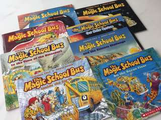 Magic School Bus x 8 books