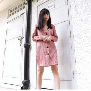 Topshop Satin Shirt Dress