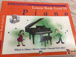 Alfred Book Piano - Lesson Book
