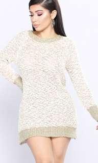 Fashion Nova ✨ Sweater Dress