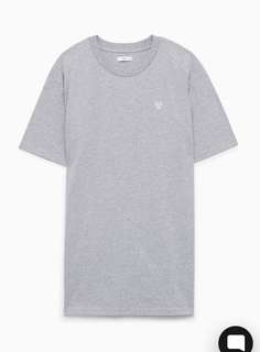TNA Grayson T-Shirt Dress XS - Heather Grey (BNWT)