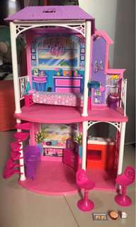 Barbie Beach house doll