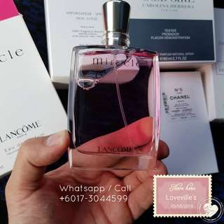 Miracle EDP by Lancome (Tester ORI)