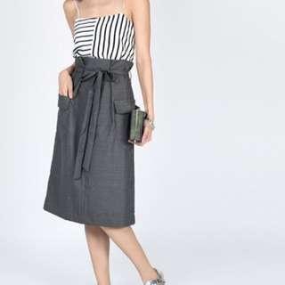 Love Bonito Kinsley Midi Skirt (black)